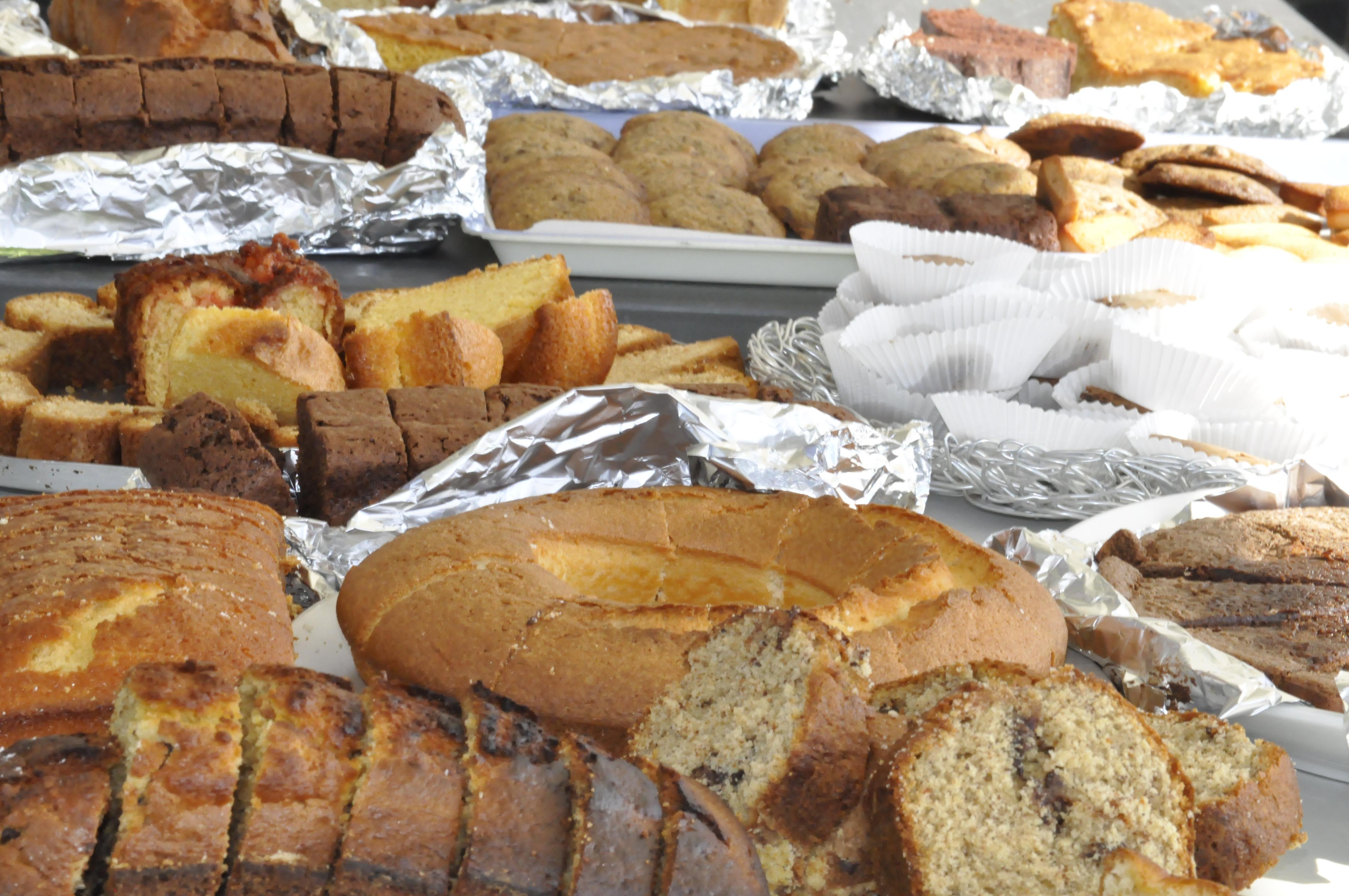 Le stand de gâteaux