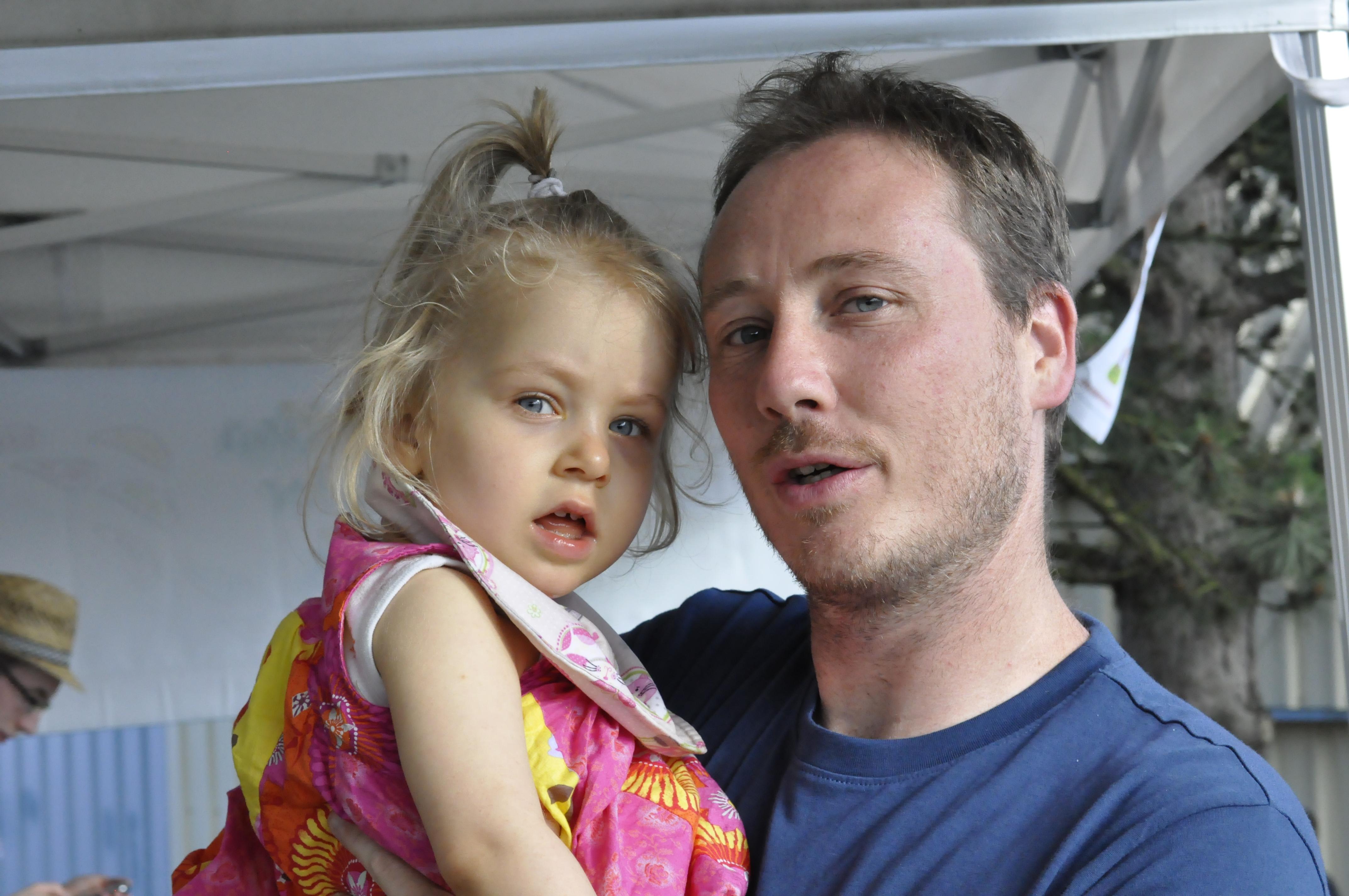 Anaïs et son papa