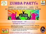 2014-01-11 - Affiche Zumba party (1)