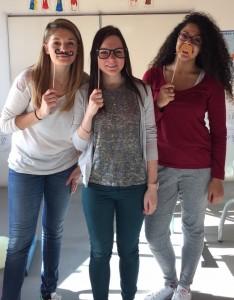 Nos 3 étudiantes